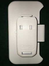 WHITE BELT CLIP FOR APPLE IPHONE 4 OTTERBOX DEFENDER CASE - NEVER USED