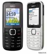 Nokia c1-01 Libre Cámara de Bluetooth Teléfono Móvil en caja