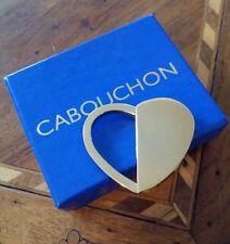 Unbenutzt! Schöner CABOUCHON Schlüsselanhänger - 2 Varianten, gold !!!