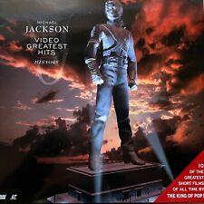 LASERDISC - MICHAEL JACKSON - VIDEO GREATEST HITS - HISTORY VOL 1