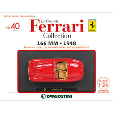 Deagostini Le Grandi Ferrari Collection No.40 With 1/24 166 MM 1948 New Japan F1