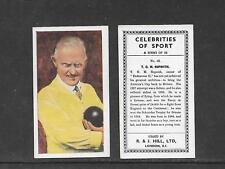 NEW CARDS ADDED:   Type Cards: Hill CELEBRITIES OF SPORT EX cards.