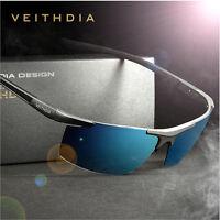 Mens Aluminum HD Polarized Sunglasses Driving Outdoor Sports Eyewear UV400