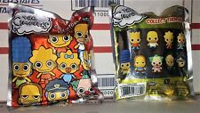 Lot of 2 -The Simpsons Collectible Keyring - 3D Figural Keychain Blind Bags -NEW