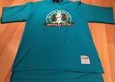 Vintage Beverly Hills Giorgio Shirt Blue 90s Color Hip Hop Men's Large Rare