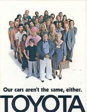 1973 Toyota Sales Brochure Corolla Celica Land Cruiser mw8176-RSD8S5
