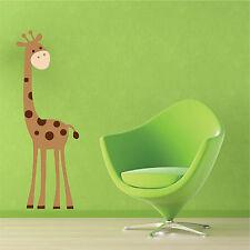 Giraffe Childrens Nursery Wall Art Stickers, Wall Decals, Wall Graphics