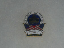 1992 Pro Football Hall of Fame, Inductees' Family Attendance Pin, Clean