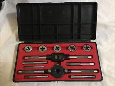 Craftsman Kromedge Tap & Hexagon Die Set Model 52055 Closure On Case Broken