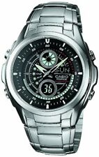 CASIO EDIFICE EFA-116D-1A1JF Analog / Digital Combo Mens Watch WR 10 BAR JAPAN