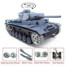 Us Stock Henglong 1/16 6.0 German Panzer Iii L Rtr Rc Tank 3848 Metal Tracks