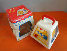 FISHER-PRICE TURN & LEARN TOURNIQUET D'ACTIVITE' 1988 NUOVO VINTAGE