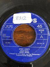 "David Bowie – Space Oddity  7"" Vinyl (JukeBox Centre)1969 BF1801 304201bf Mono"