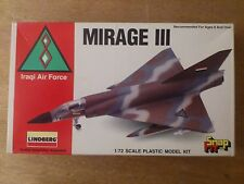 1:72 LINDBERG no. 70955 Mirage III Iraqi Air force. Kit NIP