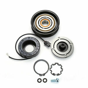 AC A/C COMPRESSOR CLUTCH KIT PULLEY COIL FITS 2003 - 2007 HONDA ACCORD 4CYL 2.4