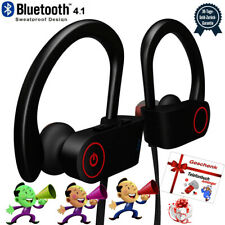 IPX7 Sport Kopfhörer Bluetooth Stereo In Ear Ohrhörer Handy Headset Wasserdicht