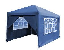 Side Walls&Door for 3m Blue Steel Folding Gazebo PopUp Party Tent Garden Canopy