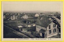 cpa AUDUN LE ROMAN (Meurthe et Moselle) Rue des NEUF SAUTS Maisons Alsacienne
