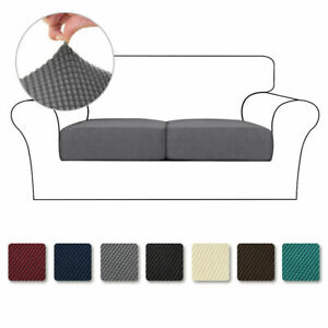Sofa Seat Cushion Cover Stretch Chair Couch Slipcovers Settee Backrest Protector