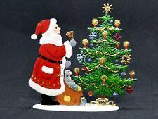 """ARTIST WILHELM SCHWEIZER GERMAN ZINNFIGUREN Santa Here! (4.25""""x 4"""")"""