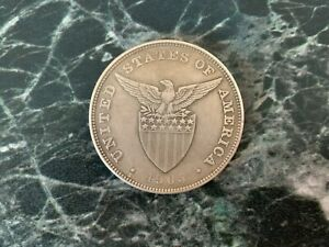 PHILIPPINES US ADMINISTRATION PESO 1905-S