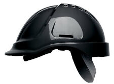 10 x Scott HC600V  Vented Safety Helmet Hard Hat With Sweatband BLACK