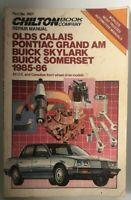 Chilton's Repair Manual 7657 1985-1986 Calais Grand Am Skylark Somerset