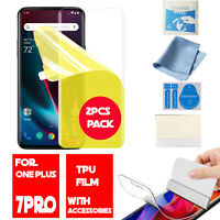For OnePlus 7 Pro,Screen Protector TPU Film Scratch Protect For One Plus 7 Pro