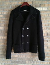 Dior Homme Double Breasted Parisian Knitted Wool Cardigan