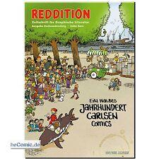 reddition 66 Zeitschrift graphische Comic Zeitung 50 Jahre Carlsen Tim Struppi