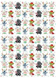 Personalised Star Wars Christmas Wrapping Paper