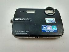 Olympus Stylus 550WP 10.0MP Waterproof Digital Camera Black NO CHARGER