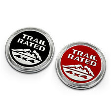 SCRITTA STEMMA LOGO TRAIL RATED LATERALE SIDE EMBLEM PER JEEP RENEGADE