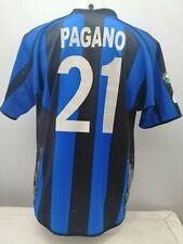 Match worn shirt Pagano Atalanta  NO Juventus Milan Torino Roma Napoli Inter