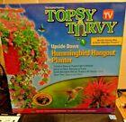 Topsy Turvy TT151112 Hummingbird Upside Down Planter, Red, NEW IN BOX