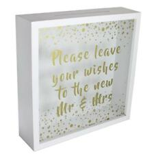 'Leave your Wishes to the New Mr & Mrs' - Wedding Memories Keepsake Box