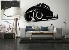 Wall Vinyl Sticker Decals Mural Room Design OldFashion Retro Car Vehicle bo1642