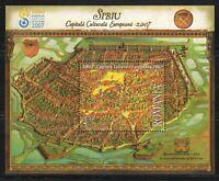 Romania 2007 MNH Mi Block 401 Sc 4967 Sibiu, 2007 European Cultural Capital **