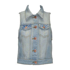 Unbranded Cotton Cropped Sleeveless Tops & Shirts for Women