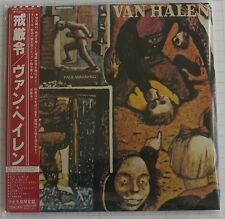 VAN HALEN - Fair Warning REMASTERED JAPAN MINI LP CD OBI NEU! WPCR-12868