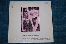 POESIAS DE MIGUEL DE UNAMUNO Fernando Fernan Gomez ANA MARIA NOE etc LP