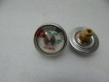 "2 pack gas pressure gauge 0-3000 PSI, 1.5"" FACE, 1/8"" NPT BACK MOUNT 1.5 X 1/8"