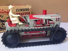 Louis Marx SPARKLING CLIMBING TRACTOR Vintage Toy WORKS Has All Parts