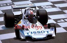 Loris Kessel Brabham BT44B French Grand Prix 1976 Photograph