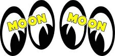 """Moon Eyes Pair Right & Left 5"""" Decal"""