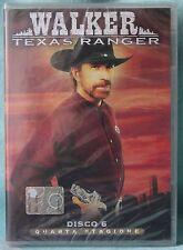 WALKER  TEXAS RANGER - QUARTA STAGIONE - DISCO 6 - DVD n.01944 SIGILLATO