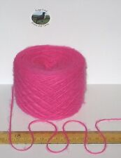 50g ball Bright Pink brushed knitting wool & acrylic yarn 4 ply SOFT fluffy