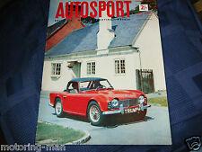 TRIUMPH TR4 FAMOUS FEATURE 1961