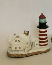 Harbour Lights Ornament 1999: West Quoddy, Maine Lighthouse. New in Box