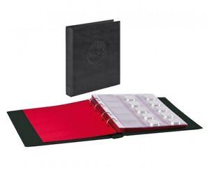 Album HALF PENNY avec 10 feuilles numismatiques - noir (Lindner)